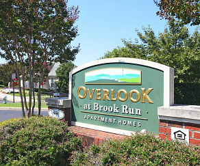 Community Signage, Overlook At Brook Run