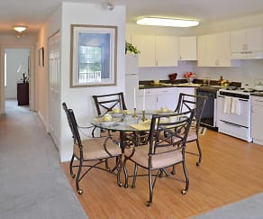 Kitchen, The Fairways Apartments & Townhomes