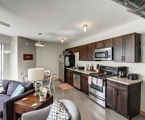 Kitchen, Ingersoll Square Lofts