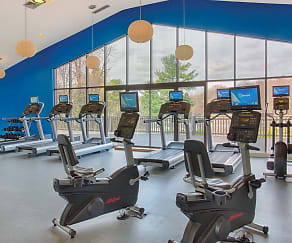 Fitness Weight Room, Royal Crest Warwick Apartment Homes