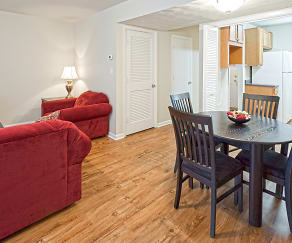 Dining Room, Bent Creek Apartments and Townhomes