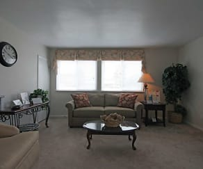 Living Room, Andover Apartments