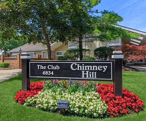 Community Signage, Chimney Hill Apartments
