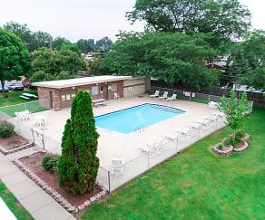 Pool, Dearborn Club