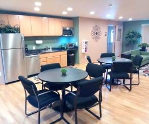 Clubhouse, Sand Creek Apartments