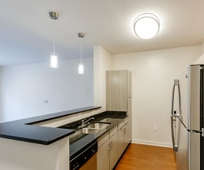 Kitchen, The Residences at Woodbine Park