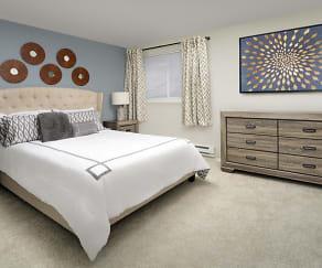 Bedroom, Creekside Apartments