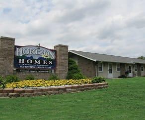 Community Signage, Horizon Homes Retirement Community