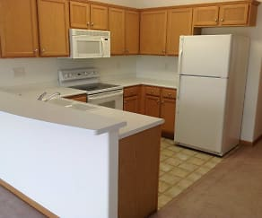 Kitchen, Mayberry Loft Apartments