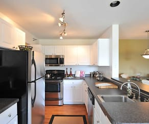 Interior-Kitchen, Camden At Bloomingdale