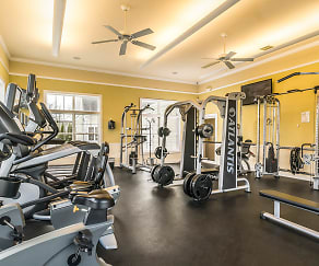 Fitness Weight Room, Evergreen At Timber Glen