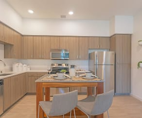 Kitchen, Ageno Apartments