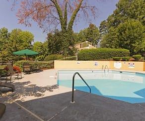 Pool, Wendover Walk Apartments