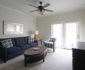 Living Room, Overbrook Apartments