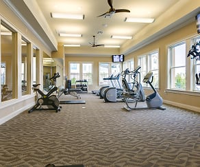 Fitness Weight Room, Bella Ridge Apartments
