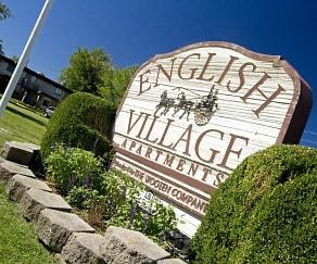 Community Signage, English Village Apartments