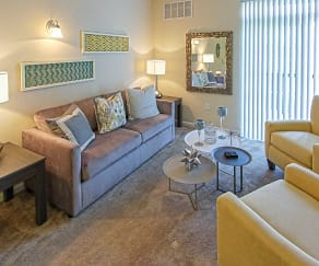 Living Room, The Vintage At The Grove