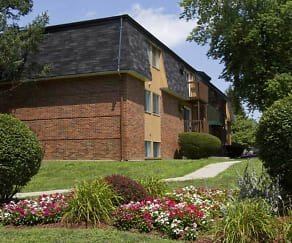 Landscaping, Breckenridge Apartments
