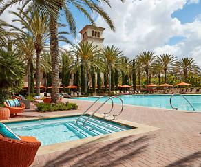 Pool, The Park at Irvine Spectrum