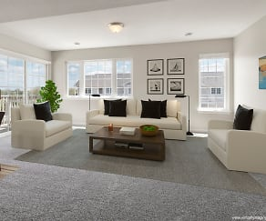 Living Room, Southwind Prairie Apartment Homes