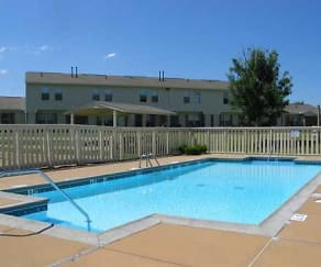 Pool, Country Place Apartments