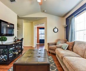 Living Room, Bridgemoor At Killeen Apartments