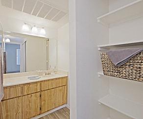Bathroom, Mountain View Apartments