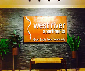 Community Signage, West River Apartments