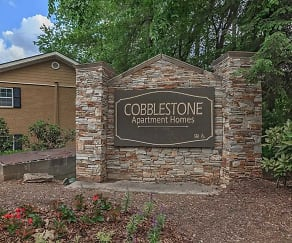 Community Signage, Cobblestone Apartments