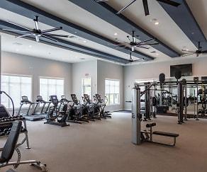 Fitness Weight Room, Decorum