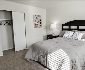 Bedroom, Havenwood Townhomes