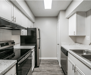Kitchen, Amberly Place at Tampa Palms