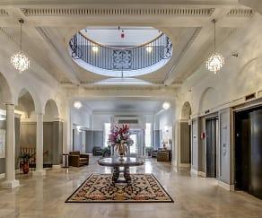 Foyer, Entryway, Kensington Tower
