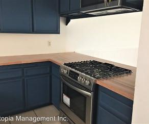 Kitchen, 526 11th Street #3