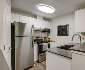 Kitchen, Callen Apartments