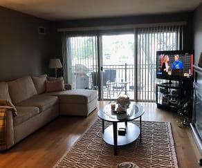 Living Room, 5200 Carriageway Drive #218
