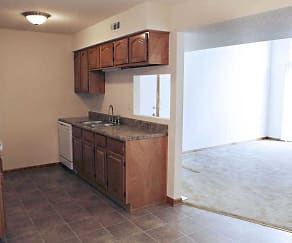 Kitchen, Polo Club Apartments & Townhomes