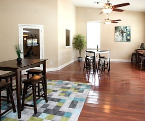 Dining Room, Silas Creek Apartments