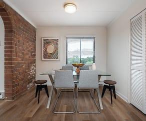 Dining Room, Concierge Apartments