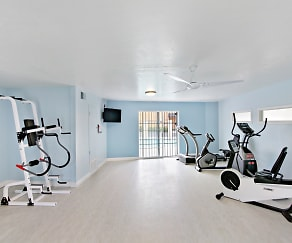 Fitness Weight Room, Ocean Air