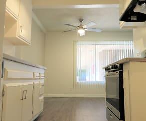 Kitchen, Medallion Court Apartments