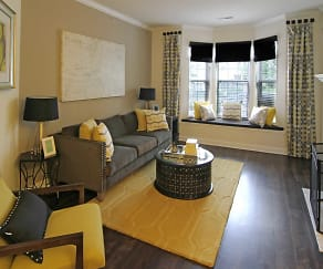 Living Room, The Reserve At Wauwatosa Village