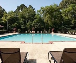 Pool, Ascent Jones Valley