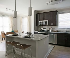Kitchen, Residences at Steele Road