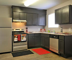 Kitchen, Vineville Townhomes