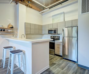 Kitchen, Amazon Apartments