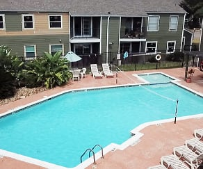 Pool, Mosswood Apartments