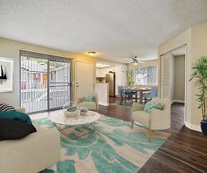 Living Room, Southridge Apartments