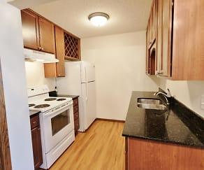 Kitchen, Minnehaha Apartments I & II