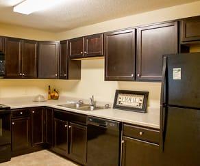 Kitchen, Ridgeview Apartments